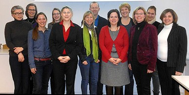 Joint initial meeting at the University of Education Karlsruhe